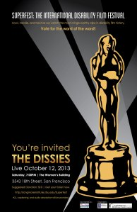 Image of an award with disability underneath
